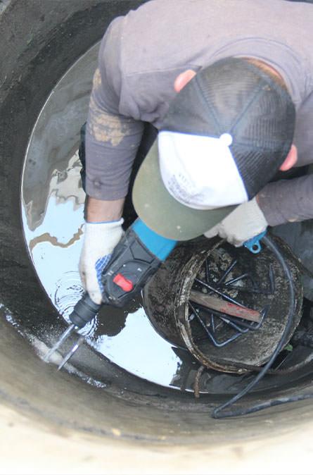 Как мы выполняем ремонт колодцев в Щелковском районе