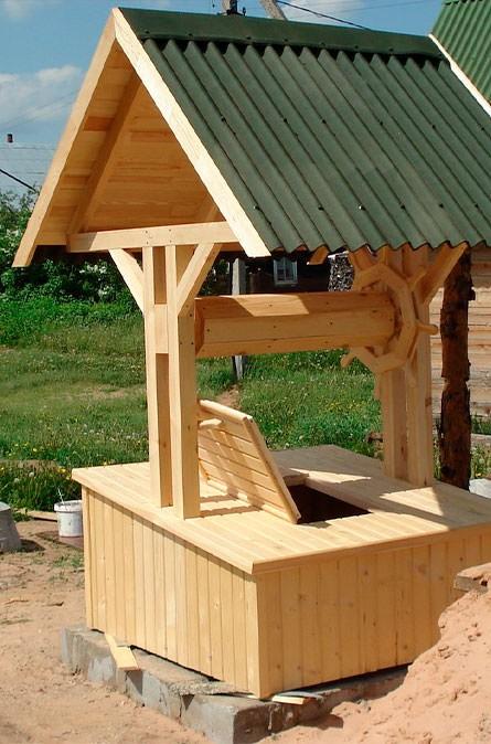 Какие у нас домики для колодца в Щелковском районе